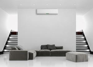 Zdjęcie pokój z klimatyzatorem